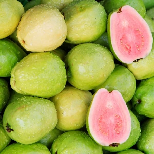 guava and cut fruit