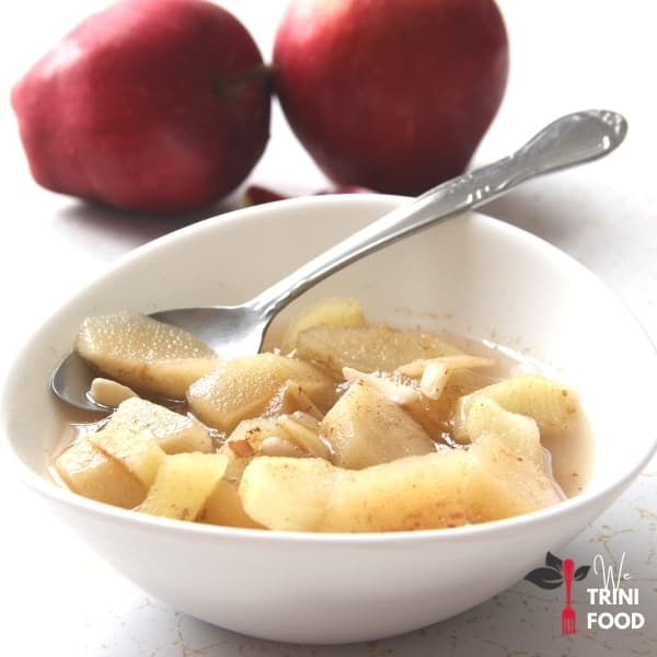 spiced apple recipe featured image