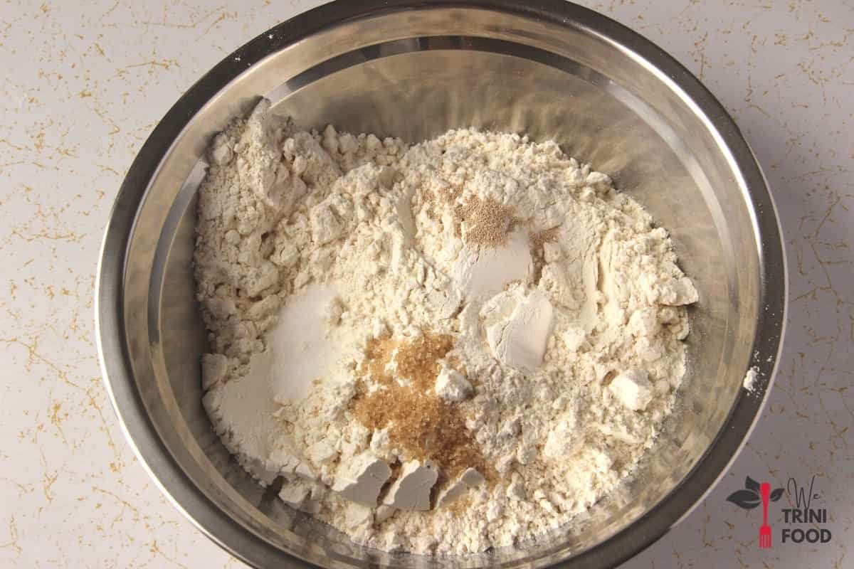 dry ingredients for fry bake