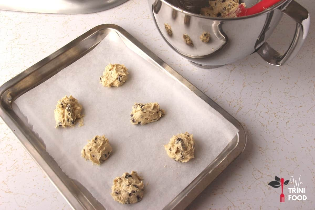 spoon and space cookie dough