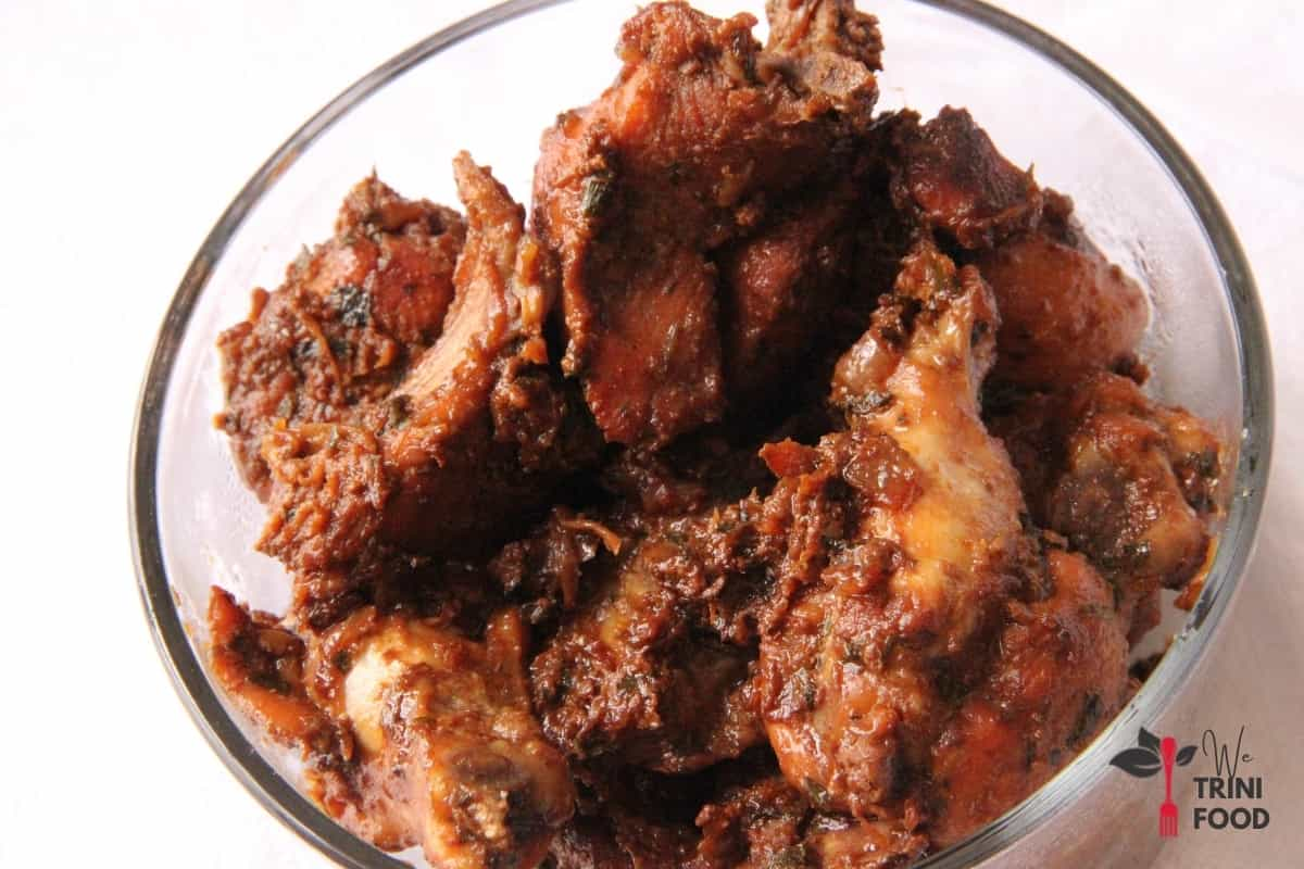 stew chicken without sauce
