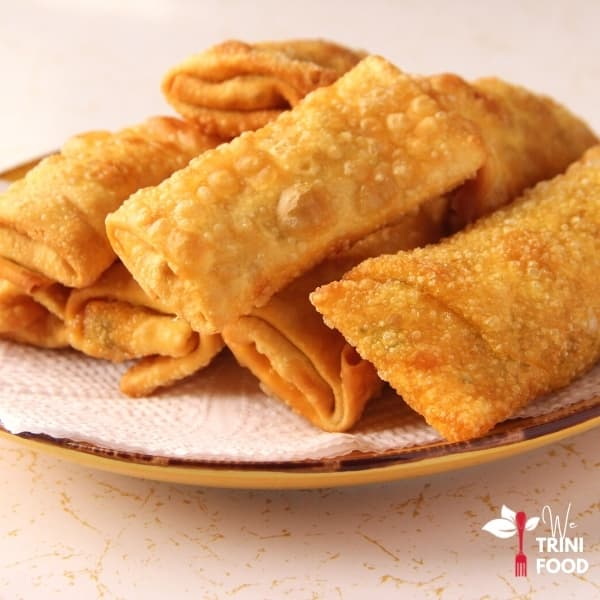 vegetable spring rolls featured image