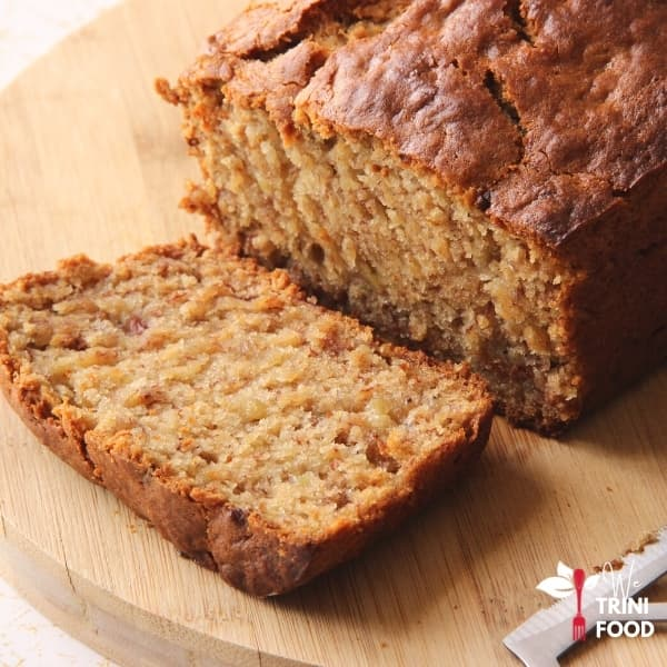 eggless banana bread featured image