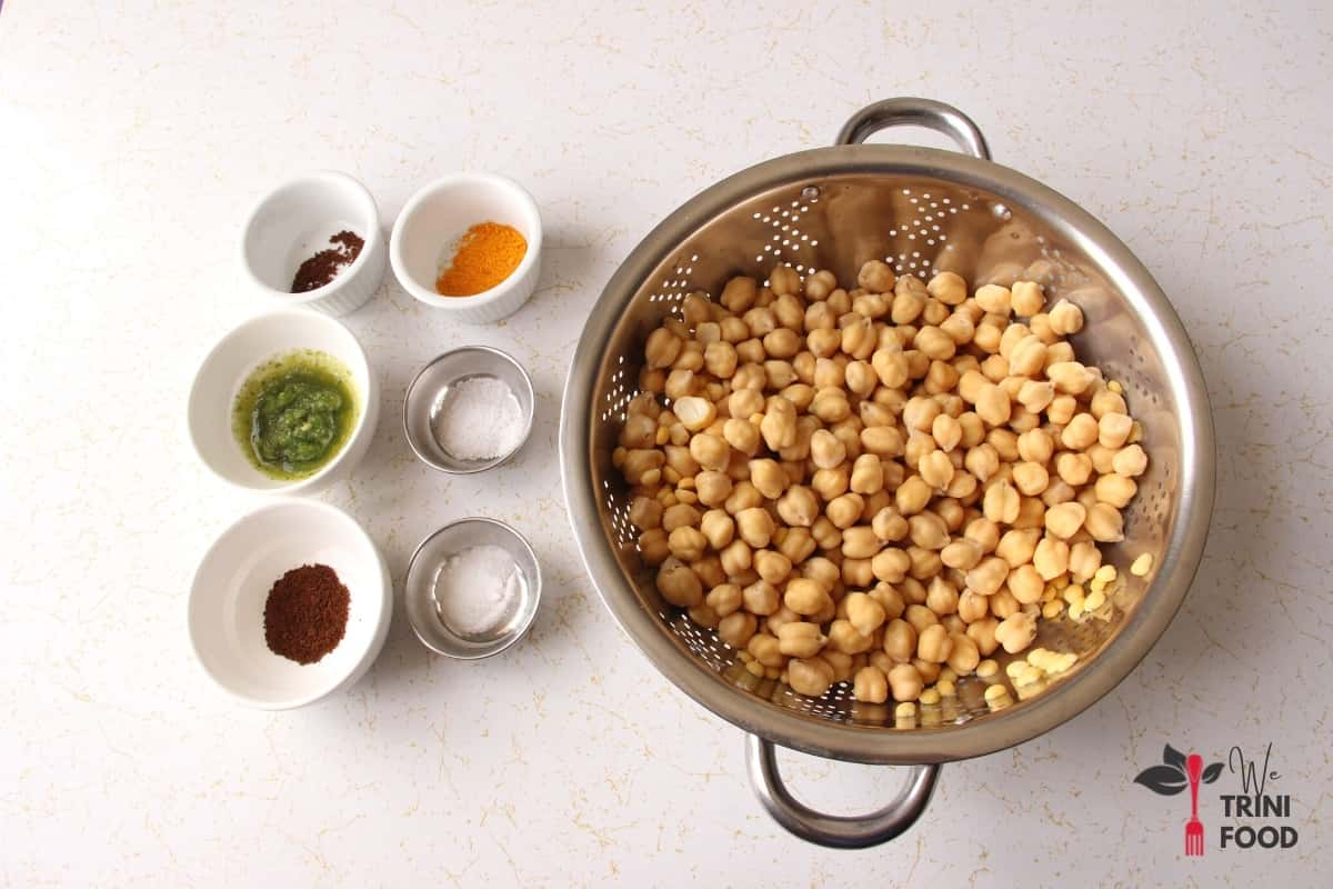 doubles channa ingredients